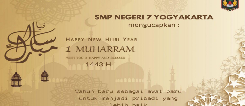 Selamat Tahun Baru Hijriah 1443 H