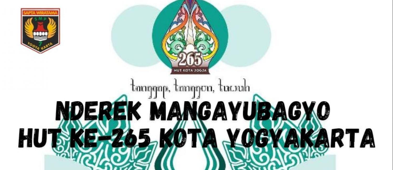Nderek Mangayubagyo HUT ke-265 Kota Yogyakarta