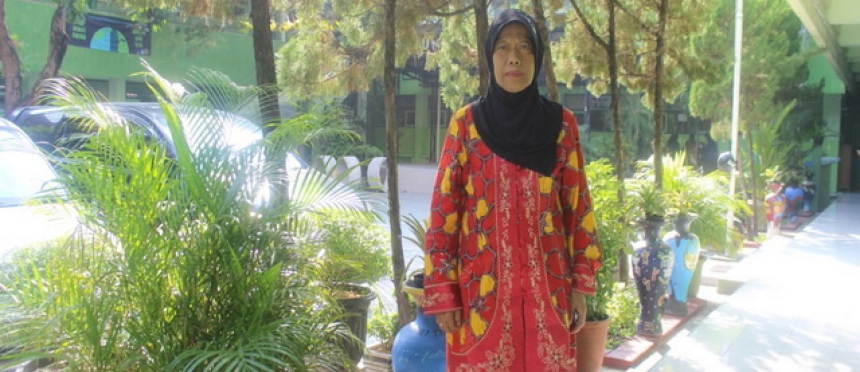Suryani, Bendahara Pengeluaran Gaji SMP Negeri 7 Yogyakarta