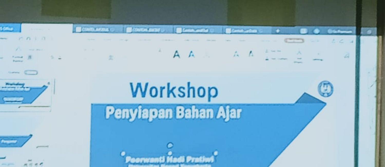 Workshop Penyiapan Bahan Ajar Bagi Guru SMP Negeri 7 Yogyakarta