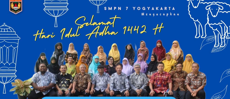 SMP Negeri 7 Yogyakarta mengucapkan Selamat Hari Raya Idul Adha 1442 H