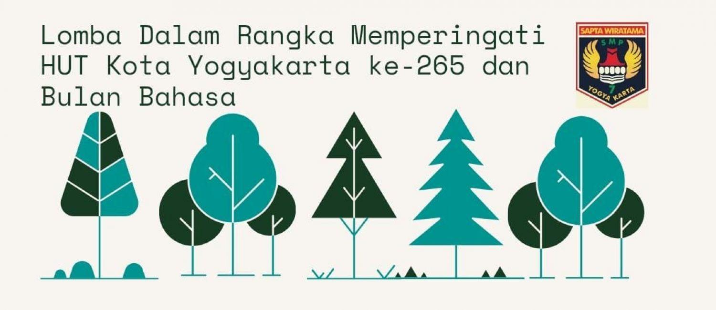 Lomba dalam rangka memperingati HUT Kota Yogyakarta ke-265 dan Bulan Bahasa