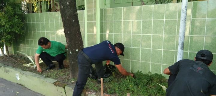 Jumat Bersih Sebagai Progam Pendukung Lingkungan Bersih