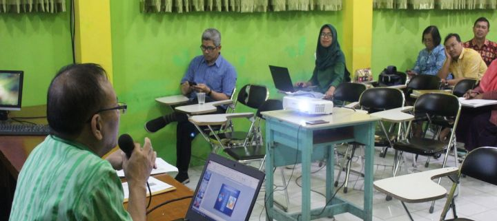 Workhshop penilaian raport siswa, Penguatan tugas guru, wali dan TU di SMPN 7 Yogyakarta