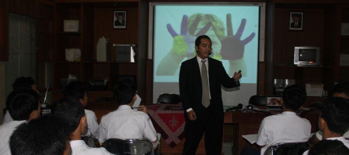 Asyik… Kelas 9 Ikut Motivasi Training Lagi