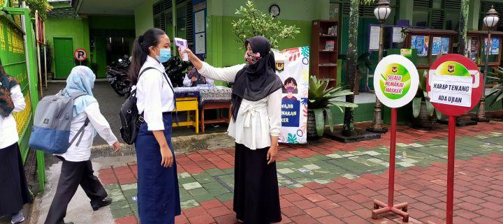 Berkarakter Unggul, SMP Negeri 7 Yogyakarta Sukses Melaksanakan ASPD dengan Protokol Kesehatan