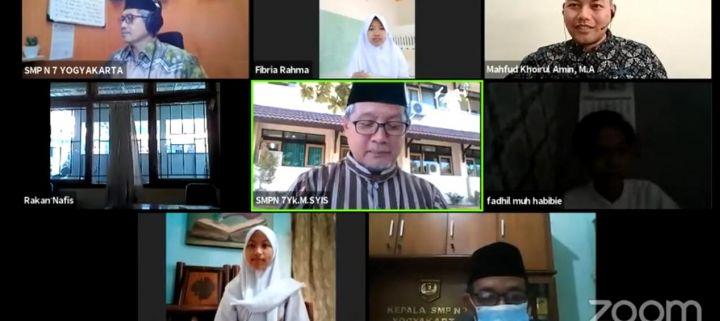 Isra Mi'raj Nabi Muhammad SAW di SMP N 7 Yogyakarta