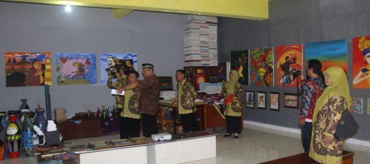 Kunjungan Kerja SMP N 2 Surakarta