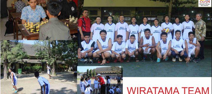 Kembali, Tim Wiratama Runner Up Voli Putra, Juara 3 Renang, dan Juara 4 Catur Dalam O2SN