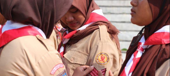 Pelantikan Dewan Penggalang Pramuka Pangkalan SMPN 7 Yogyakarta