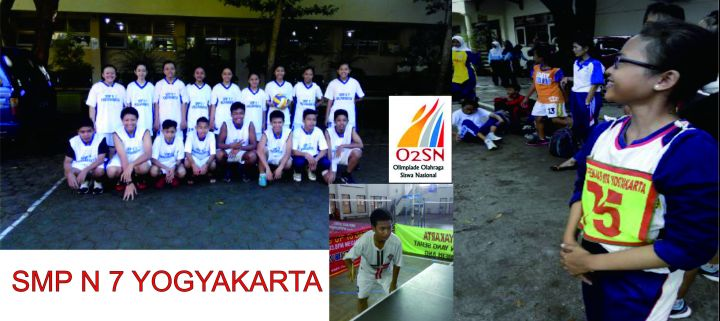 Ganda SMP N 7 Yogyakarta Runner Up Cabor Bulutangkis