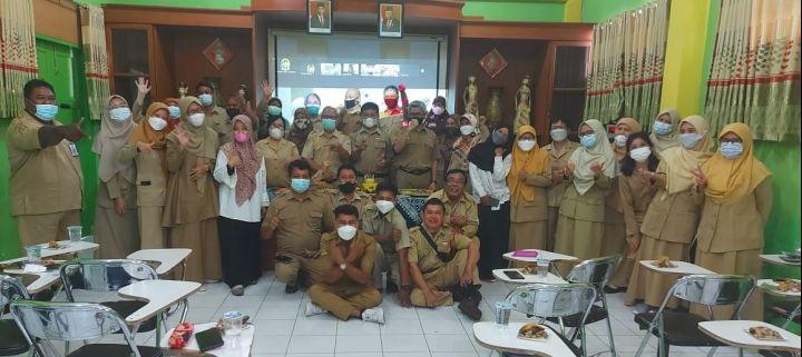 SMP N 7 Yogyakarta Turut Serta Pada Peringatan HUT Pemerintah Kota Yogyakarta