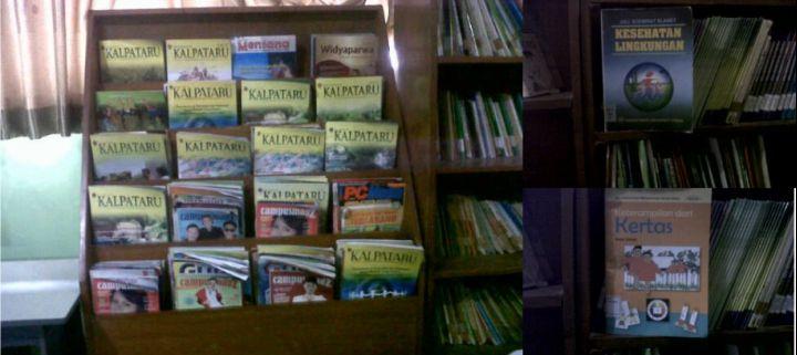 Perpustakaan Sekolah Juga Sebagai Sumber Belajar Dalam Meningkatkan Wawasan Lingkungan Hidup