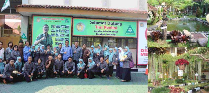 Mengagumi Setiap Sudut SMP Negeri 13 Bandung