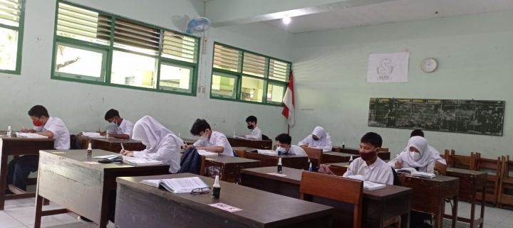 Pelaksanaan Simulasi Pembelajaran Tatap Muka SMP Negeri 7 Yogyakarta