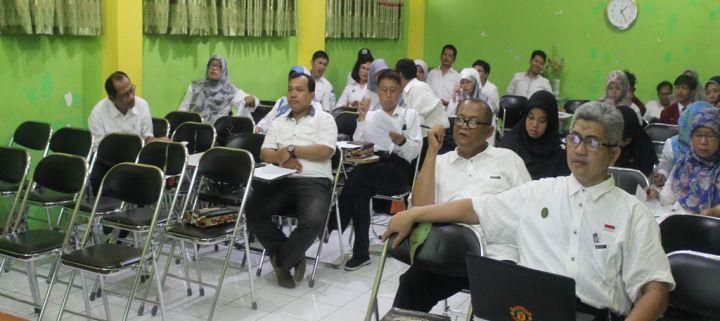 Review Kurikulum Tingkat Satuan Pendidikan (KTSP) Dan Pengelolaan Kelas (Guru) Serta Penguatan Ketugasan (TU)