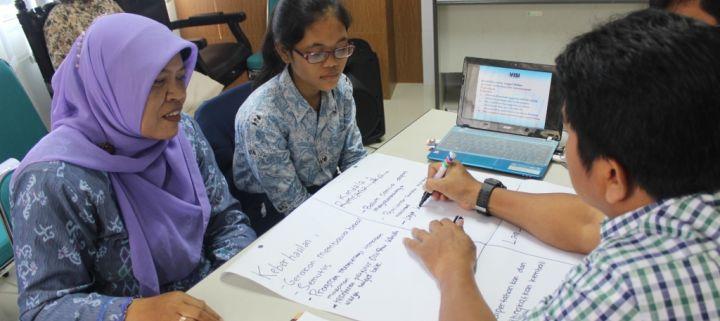 Semangat SMP N 7 YK Menuju Sekolah Eco-mapping Mandiri